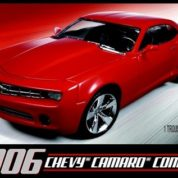 1:25 2006 CHEVY CAMARO Plastic Model Kit AMT (RAMT631)