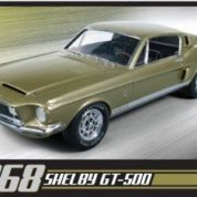 1:25 1968 SHELBY GT500 Plastic Model Kit AMT (RAMT634)