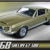 1:25 1968 SHELBY GT500 Plastic Model Kit AMT (RAMT634)