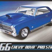 1:25 1966 CHEVY NOVA PRO STREET Plastic Model Kit AMT (RAMT636)