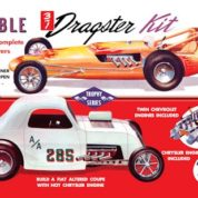 1:25 DOUBLE DRAGSTER Plastic Model Kit AMT (RAMT646)