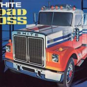 1:25 WHITE ROAD BOSS TRUCK Plastic Model Kit AMT (RAMT648)