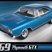 1:25 1969 GTX Plastic Model Kit AMT (RAMT686)