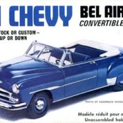 1:25 1951 CHEVY CONVERTIBLE Plastic Model Kit AMT (RAMT608)