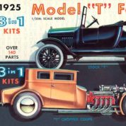 1:25 1925 FORD T ORIGINAL CREATION Plastic Model Kit AMT (RAMT626)