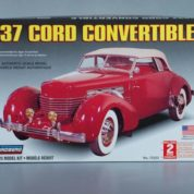 1:25 1937 CORD CONVERTIBLE Plastic Model Kit LINDBERG (RLIN72323)