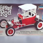 1:8 BIG RED T ROD Plastic Model Kit LINDBERG (RLIN73044)