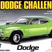 1:25 1972 DODGE CHALLENGER Plastic Model Kit LINDBERG (RLIN73069)