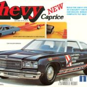 1:25 1976 CAPRICE W/TRAILER Plastic Model Kit MPC (RMPC753)