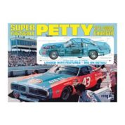1:16 RICHARD PETTY NASCAR CHRGER WITH CLEAR BODY Plastic Model Kit MPC (RMPC767)