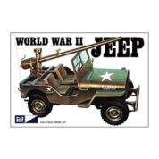1:25 WORLD WAR II MILITARY JEEP Plastic Model Kit MPC (RMPC785)