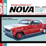 1:25 1966 CHEVY NOVA BILL JENKINS Plastic Model Kit AMT (RAMT772)