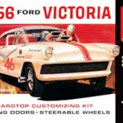1:25 1956 FORD VICTORIA HAULIN HENRY Plastic Model Kit AMT (RAMT807)