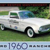 1:25 1960 FORD RANCHERO OHIO GEORGE Plastic Model Kit AMT (RAMT822)
