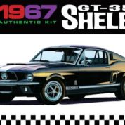 1:25 1967 SHELBY GT350 BLACK Plastic Model Kit AMT (RAMT834)
