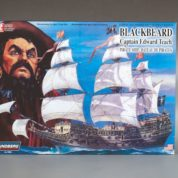 1:130 BLACKBEARD PIRATE SHIP Plastic Model Kit LINDBERG (RLIN70858)