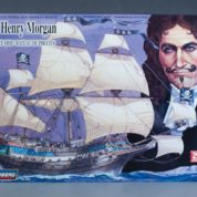 1:130 SIR HENRY MORGAN PIRATE Plastic Model Kit LINDBERG (RLIN70859)