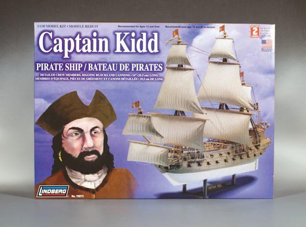 1:130 CAPTAIN KIDD PIRATE SHIP Plastic Model Kit LINDBERG (RLIN70873)