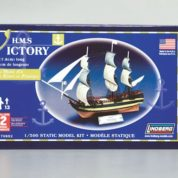 1:500 HMS VICTORY SAILING SHIP Plastic Model Kit LINDBERG (RLIN70892)