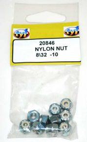 TY1 NYLON NUT 8/32 - 10
