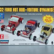 1:25 1932 FORD HOT ROD 3IN1 Plastic Model Kit LINDBERG (RLIN72165)