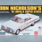 1:25 1961 IMPALA DON NICHOLSON Plastic Model Kit (RLIN72175)