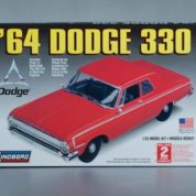 1:25 1964 DODGE 330 Plastic Model Kit (RLIN72176)