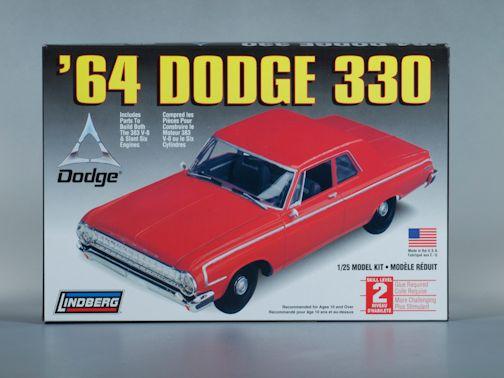 1:25 1964 DODGE 330 Plastic Model Kit (RLIN72176)