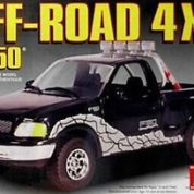 1:25 FORD F-150 OFF ROAD 4X4 Plastic Model Kit(LIN72177)