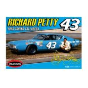 1:25 RICHARD PETTY NASCAR TORINA TALLEDAGA PLAST Plastic Model Kit POLAR LIGHTS (RPOL896)