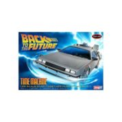 1:25 BACK TO THE FUTURE TIME MACHINE Plastic Model Kit POLAR LIGHTS (RPOL911)
