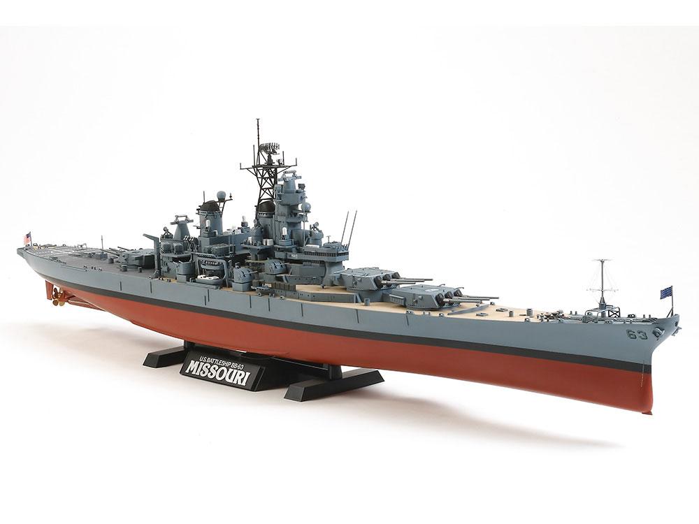 1/350 MISSOURI TAMIYA T78029 Plastic Model Kit