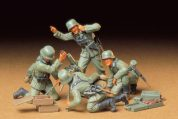 GER INFANTRY MORTAR TAMIYA T35193 Plastic Model Kit