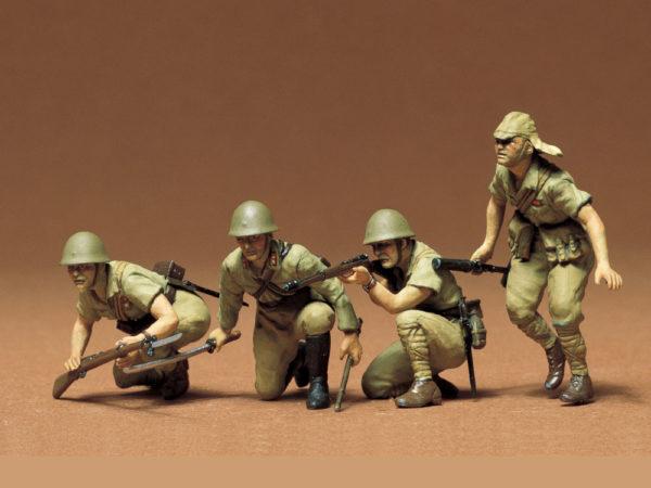 JAPANESE ARMY INFANTRY TAMIYA T35090 Plastic Model Kit
