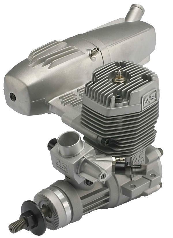 55AX MAX OS MOTOR W/E3020 SILENCER