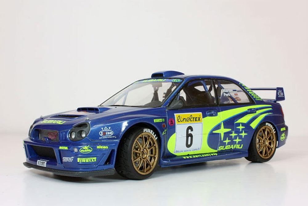 SUBARU IMPREZA WRC 2001 TAMIYA T24240 Plastic Model Kit