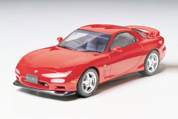 EFINI RX-7 TAMIYA T24110 Plastic Model Kit
