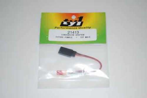 TY1 ADAPTOR FUTABA RX FEMALE TO JST MALE TY25026