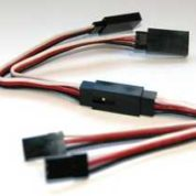 TY1 6 PIN CONNECTION SET SERVO SIDE 30CM TY406930