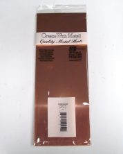 K&S METAL #259 .025 4X10' COPPER SHEET METAL 1PC