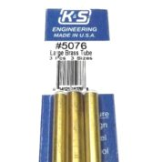 K&S METAL #5076 BRASS TUBE 3/16+7/32+1/4 12'