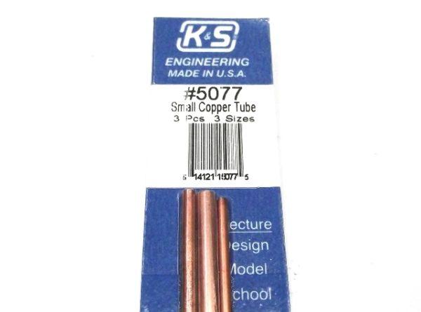 K&S METAL #5077 COPPER TUBE 3/32+1/8+5/32 12'