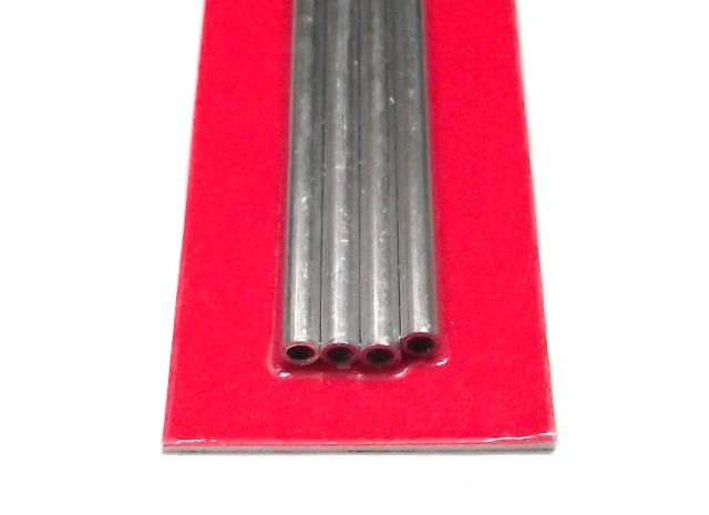 K&S METAL #9802 ALUMINIUM ROUND TUBE 3X300MM 4PCS