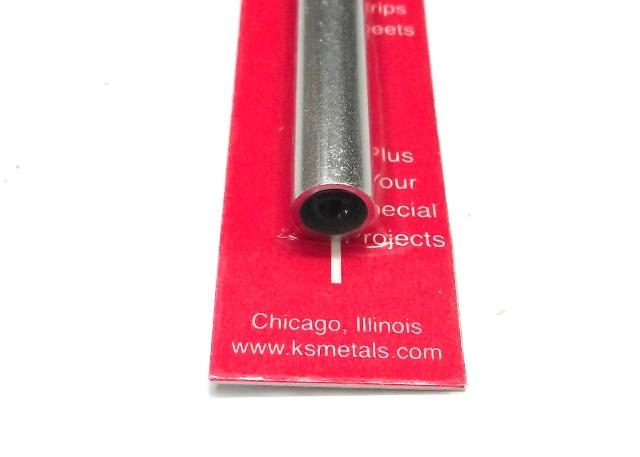 K&S METAL #9812 ALUMINIUM ROUND TUBE THIC WALL 10X300