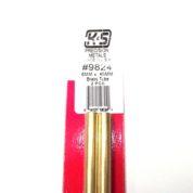 K&S METAL #9824 BRASS ROUND TUBE 6X300MM 2PCS
