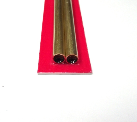 K&S METAL #9825 BRASS ROUND TUBE 7X300MM 2PCS