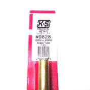 K&S METAL #9828 BRASS ROUND TUBE 10X300MM