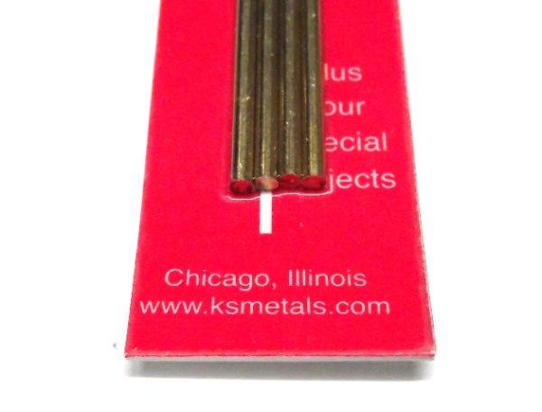 K&S METAL #9864 BRASS ROD 2.5X300MM 4PCS