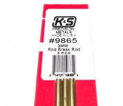 K&S METAL #9865 BRASS ROD 3X300MM 3PCS