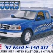 97 FORD F-150XLT 1:25 REVELL 7215 Plastic Model Kit